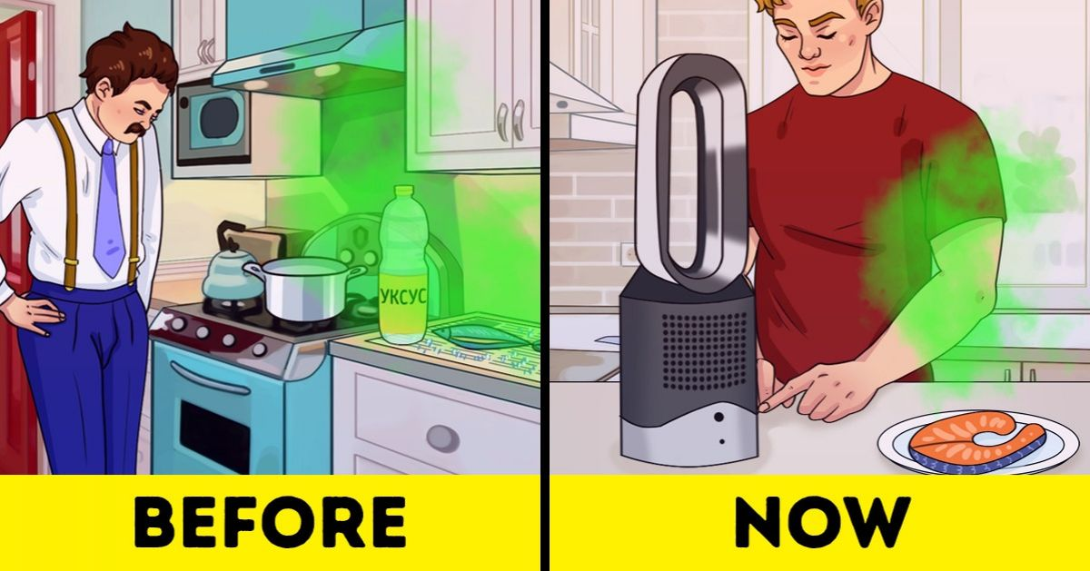 How to Get Rid of Bad Smells at Home