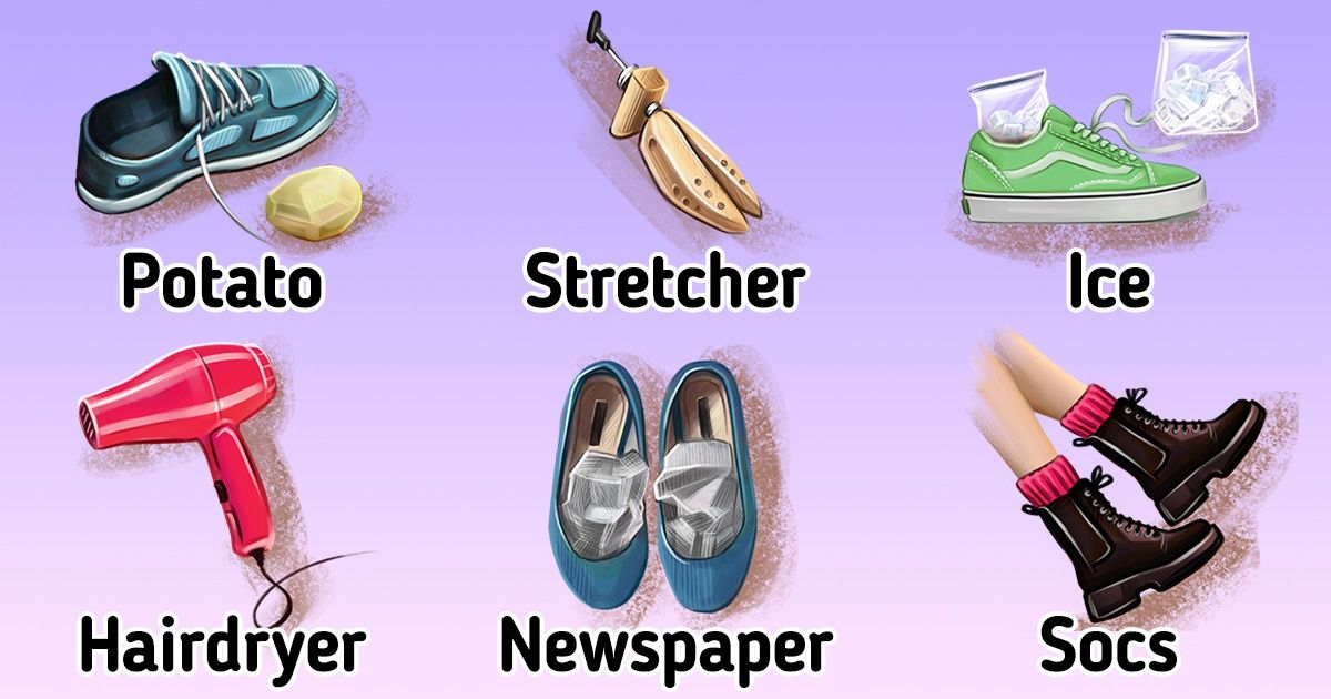How to Stretch Out Shoes: 8 Ways