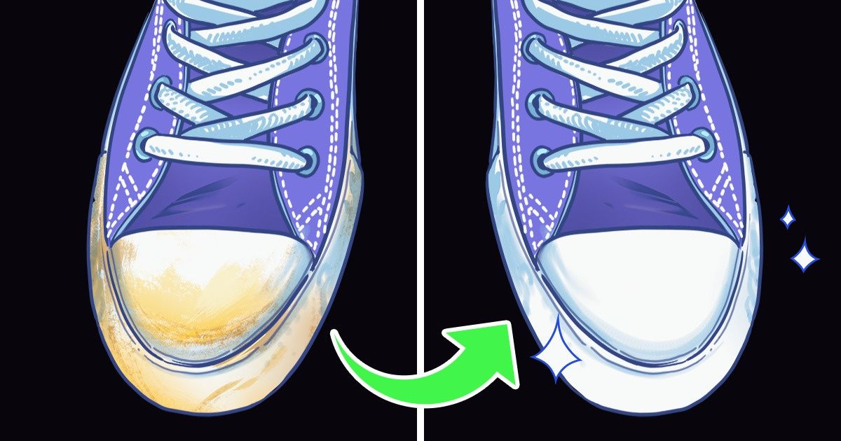 How to Clean Rubber on Shoes