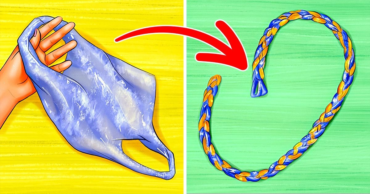 How to Make a Rope Out of a Plastic Bag