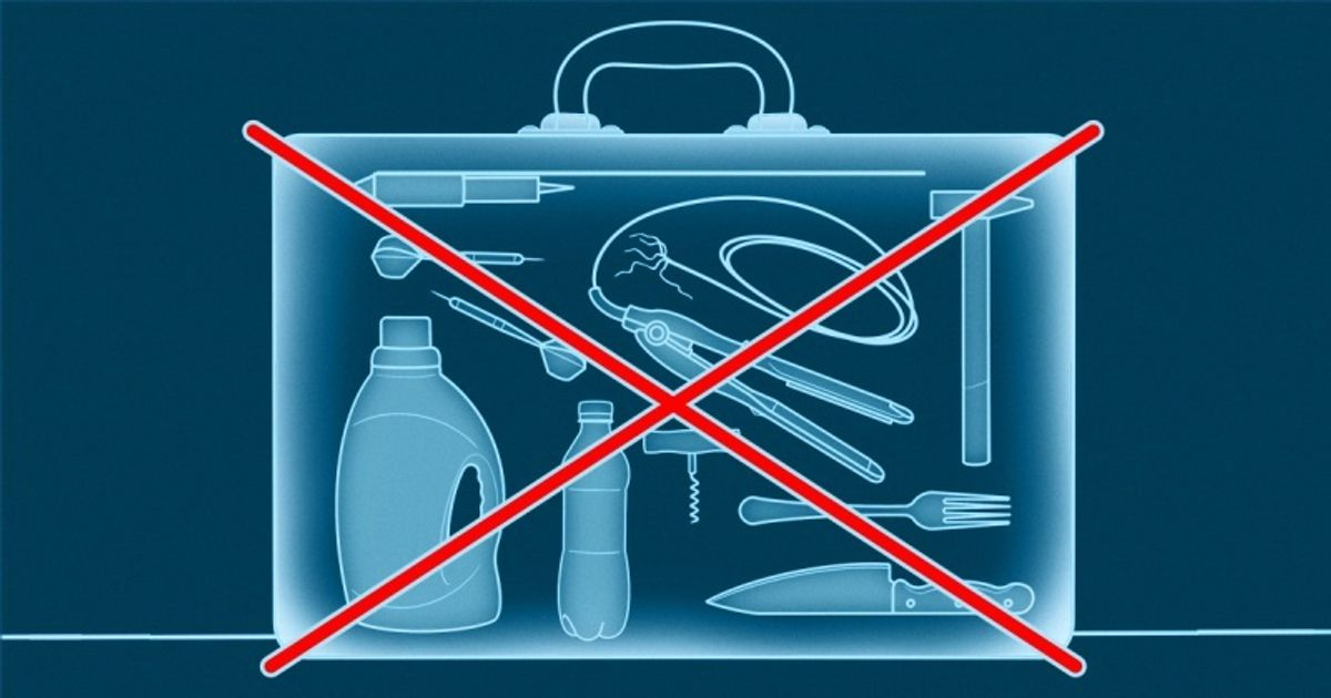 What You Can and Can't Take in Your Carry-On Baggage